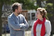 Daniel Brière et Maude Guérin dans Feux.... (Photo Bertrand Calmeau, fournie par Radio-Canada) - image 1.0
