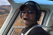 L'hélicoptère que pilotait Frédérick Décoste (photo) s'est écrasé... (Tirée de Facebook) - image 4.0