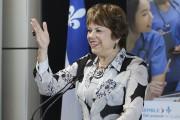 La ministre québécoise de l'Enseignement supérieur, Hélène David,... (Patrick Woodbury, LeDroit) - image 3.0