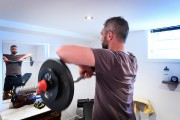 Les gyms, Félix Locas connaît, lui aussi. Il... (Photo Bernard Brault, La Presse) - image 2.0