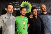 Romain Bardet, Peter Sagan, Greg Van Avermaet et... (Photo Erick Labbé, Le Soleil) - image 2.0