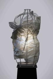 Cette sculpture lumineuse de papier fait partie de... (Fournie par la Galerie Québec Art) - image 2.0