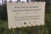 Le panneau indiquant le territoire du Nitaskinan a... (Guy Laroche) - image 1.0