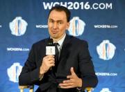 Le directeur général de l'équipe européenne, Miroslav Satan.... (PhotoDan Hamilton, USA TODAY Sports) - image 2.0