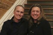 Valérie Arseneau et Martin Bouchard lors de l'ouverture... - image 1.0