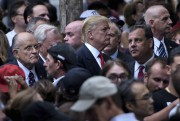 L'ancien maire de New York Rudy Giuliani, Donald... (PHOTO BRENDAN SMIALOWSKI, AGENCE FRANCE-PRESSE) - image 1.1