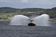 Le remorqueur Fjord Saguenay a fait la démonstration... (Photo Le Quotidien, Mariane L. St-Gelais) - image 3.0