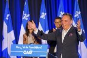 François Legault lors du congrès des jeunes de... (Olivier Croteau) - image 2.0