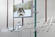 Détail d'une projection vidéo sur sculpture réalisée en... (Photo fournie par Julie Favreau) - image 2.0