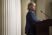 Hillary Clinton souffrait déjà d'une pneumonie vendredi lorsqu'elle... (AFP, Brendan Smialowski) - image 4.0