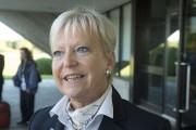 L'ambassadrice de l'Union européennne, Marie-Anne Coninsx.... (Stéphane Lessard, Le Nouvelliste) - image 1.0