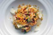 Gnocchis aux calmars confits, sauce tomate et poutargue... (Le Soleil, Jean-Marie Villeneuve) - image 2.0