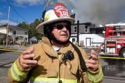 Le directeur de la Régie des incendies du... (François Gervais, Le Nouvelliste) - image 1.0