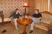Edward Snowden avecRobert Tibbo en Russie.... (PHOTO FOURNIE PAR ROBERT TIBBO) - image 12.0