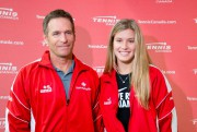 Sylvain Bruneau et Eugenie Bouchard... (PHOTO ALAIN ROBERGE, archives LA PRESSE) - image 1.0