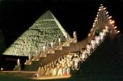 Représentation de l'opéra Aida de Verdi au pied... (photoAMR NABIL Gizeh, archives agence france-presse) - image 1.0