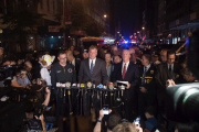 Le maire de la ville, Bill de Blasio,... (Photo Bryan R. Smith, Agence France-Presse) - image 1.0