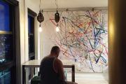 L'oeuvre d'art collective réalisée par les enfants, et... (Fournie par Le Cercle) - image 2.0