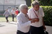 Bernie Ecclestone arrive au circuit de Marina Bay,... - image 1.0