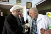 Hassan Rohani etFidel Castro.... (AP) - image 2.0