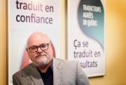 Réal Paquette, président de l'Ordre des traducteurs, terminologues... (Photo Bernard Brault, La Presse) - image 1.0