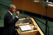 Le président Barack Obama aux Nations Unies, mardi.... (AP, Seth Wenig) - image 2.0