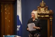 Maryse Gaudreault remplace le président Jacques Chagnon qui... (IVANOH DEMERS, LA PRESSE) - image 8.0