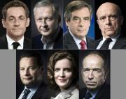 Les sept candidats à la primaire de la... (photo AFP) - image 2.0
