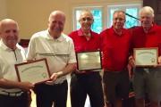 À la remise des certificats d'excellence, dans l'ordre... (Photo Claude Béliveau) - image 1.0