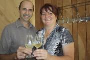 Jocelyn Verville et sa conjointe, Diane Levasseur, ont... (La Tribune, Yanick Poisson) - image 2.0