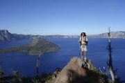 Crater Lake en Oregon... (Fournie par Bastien-Olivier Hammond) - image 3.0