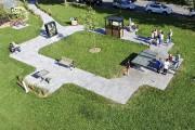 Voici une vue aérienne de l'Espace urbain Desjardins.... (Courtoisie) - image 2.0