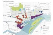 Carte tirée du document de consultation 2016Stratégie centre-ville,... (CARTE FOURNIE PAR LA VILLE DE MONTRÉAL) - image 2.0