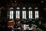 Le lobby de l'hôtel donne le ton avec... (PHOTO HUGO-SEBASTIEN AUBERT, LA PRESSE) - image 3.0