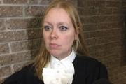 La procureure aux poursuites criminelles Me Marie-Line Ducharme... (La Tribune, René-Charles Quirion) - image 1.0