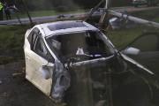 L'état dans lequel se trouve la voiture témoigne... (fournie par Jessica Renaud) - image 1.0