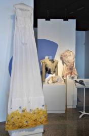 Azélina Michelet a récupéré ses textiles auprès de... (Le Soleil, Patrice Laroche) - image 2.0