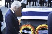 Bill Clinton n'a pas attendu les funérailles de... (AFP, Menahem Kahana) - image 2.0