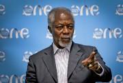 Kofi Annan comptait aussi parmi les intervenants du... (Patrick Woodbury, LeDroit) - image 2.0