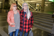 Les soeurs de Lyne Massicotte, Shirley et Francine... (Le Soleil, Jean-Marie Villeneuve) - image 1.0