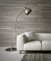 Le bois gris délavé crée un look rustique... (123 RF) - image 1.0