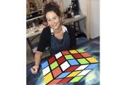 Cynthia Tremblay a trouvé un moyen original de... (Photo Le Quotidien, Rocket Lavoie) - image 1.1