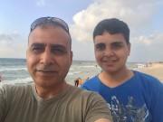 Hadi Eid et son fils Bashar... (Photo fournie par la famille) - image 1.0