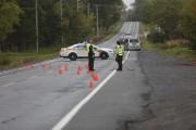 La route 202 a été fermée jusqu'à environ... (Julie Catudal, La Voix de l'Est) - image 1.0