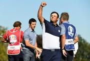 Désigné pour affronter Rory McIlroy (deuxième à gauche)... (PhotoJohn David Mercer, USA TODAY Sports) - image 2.0