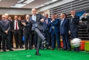 Le président de la FIFA, Gianni Infantino.... (Photo Jose Miguel Gomez, AFP) - image 1.0