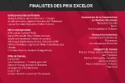 L'identité des 22 finalistes des prix Excelor2016 a été dévoilée mardi soir, à... - image 2.0