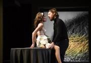 Anne-Marie Cadieux et Emmanuel Schwartz brillent dans la... (Photo Yves Renaud, fournie par le TNM) - image 2.0