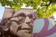 Le dévoilement d'une grande murale rendant... (PHOTO OLIVIER JEAN, LA PRESSE) - image 3.0