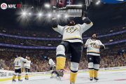 P.K. Subban soulevant la Coupe Stanley au Centre... (Photo fournie par EA Sports) - image 1.0